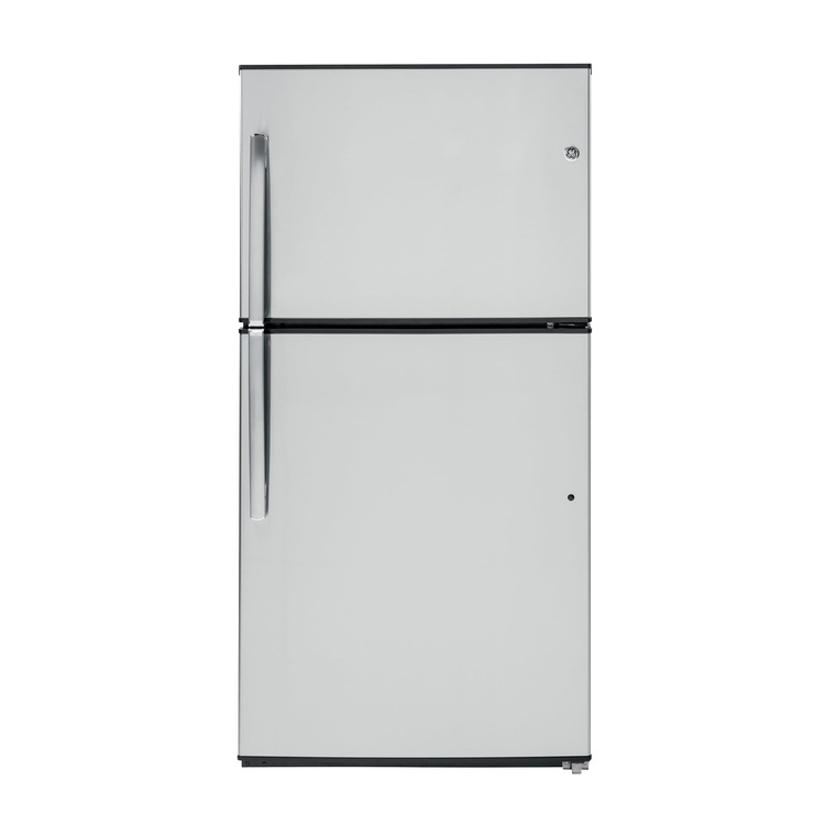 21.2 cu. ft. Energy Star Top Mount Refrigerator - Stainless