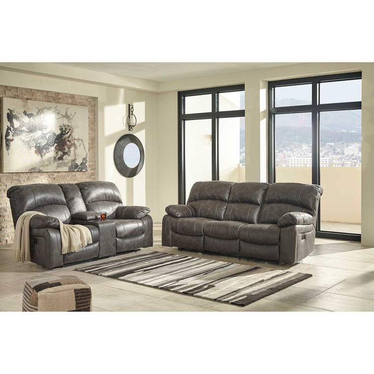 2-Piece Dunwell Steel Reclining Living Room Collection