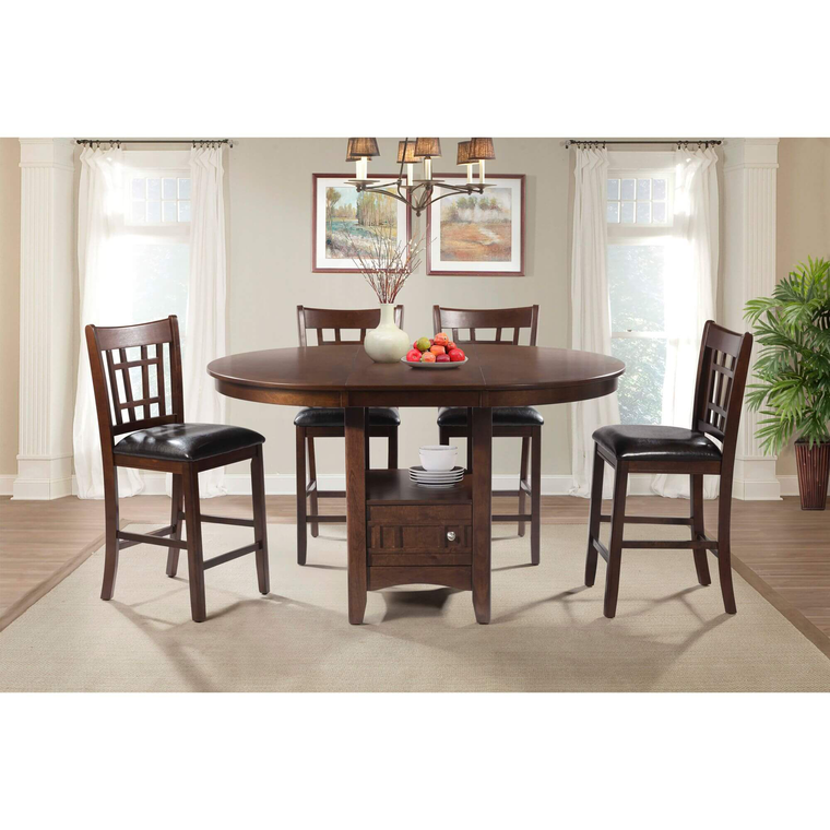 5-Piece Max Pub Table Dining Room Collection