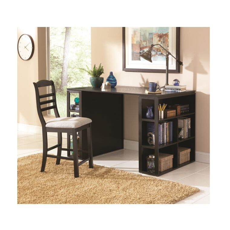 2-Piece Bradford Counter Height Desk and Chair Set