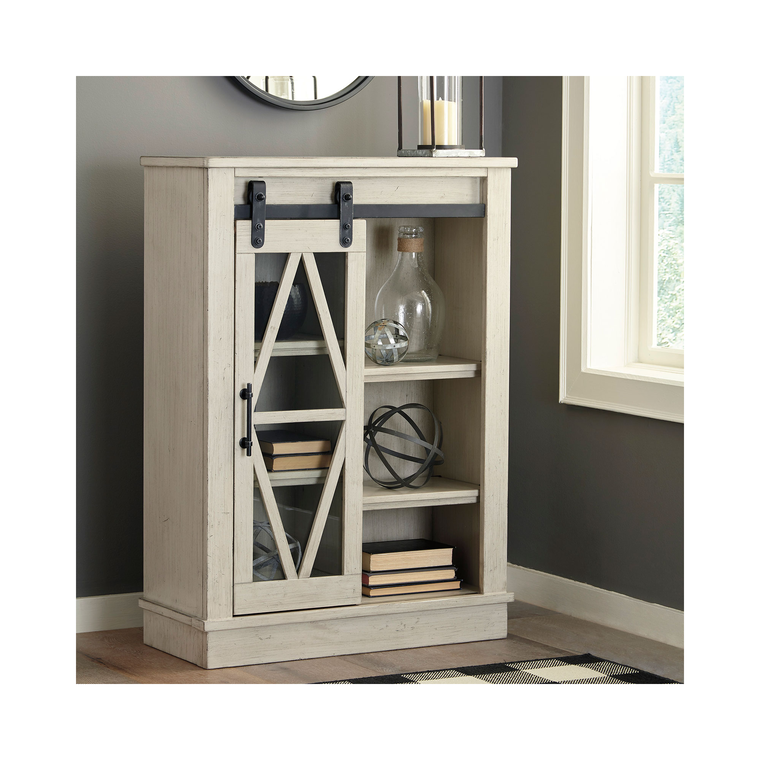 Bronfield Accent Cabinet - White