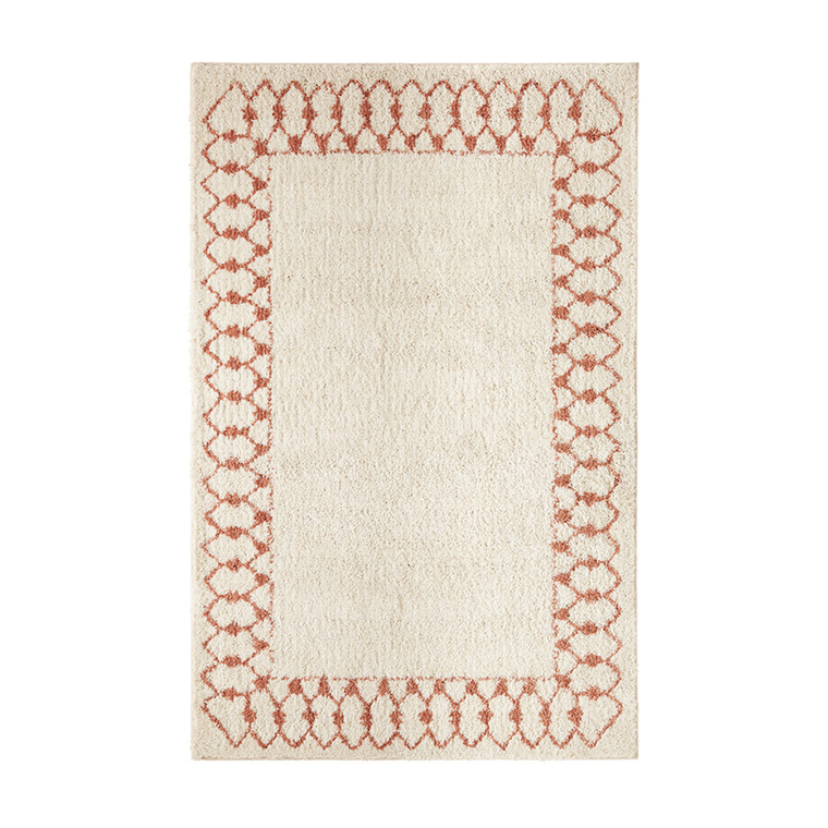 Chained Border Rug
