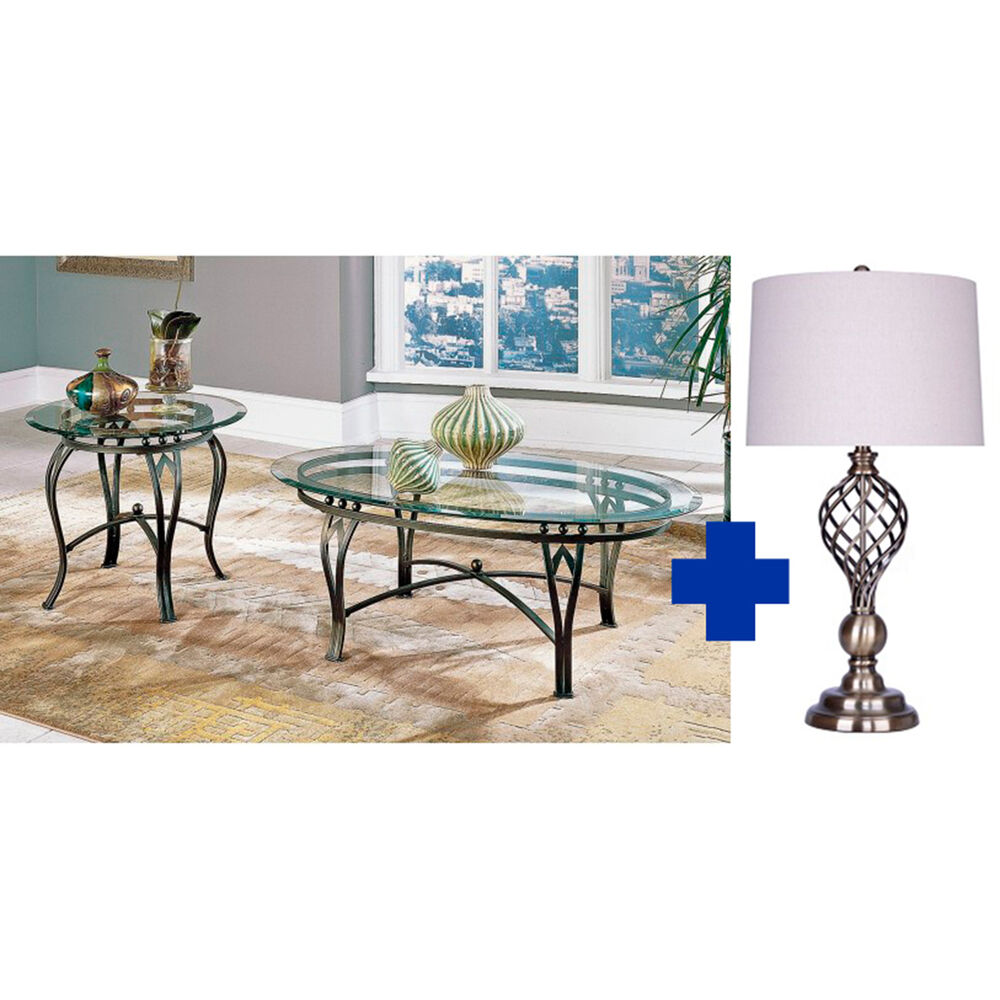 Steve Silver Tables, Lamps, Rugs, & Accy. 5-Piece Madrid Living Room ...