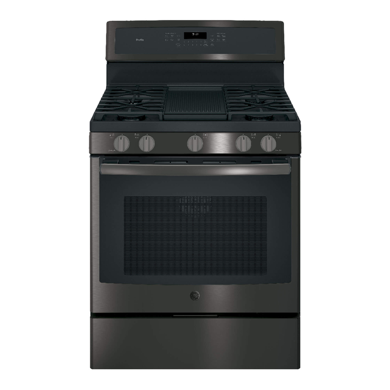 5.6 cu. ft. Self Cleaning Gas Convection Range - Black Stainless Steel