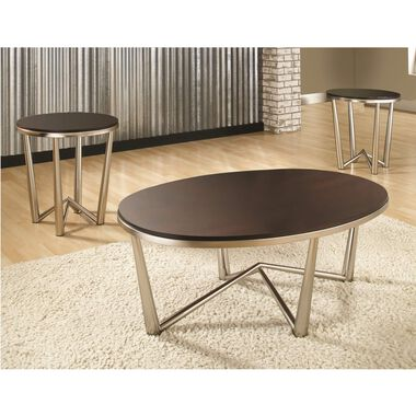 3-Piece Cosmos Cocktail & End Tables Bundle