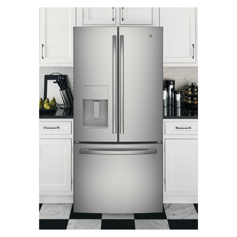 23.7 cu. ft. Energy Star French Door Refrigerator - Stainless Steel