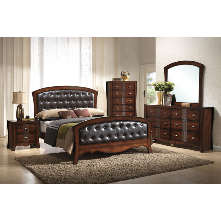 11-Piece Jenny Queen Bedroom Collection With Tight Top Mattress