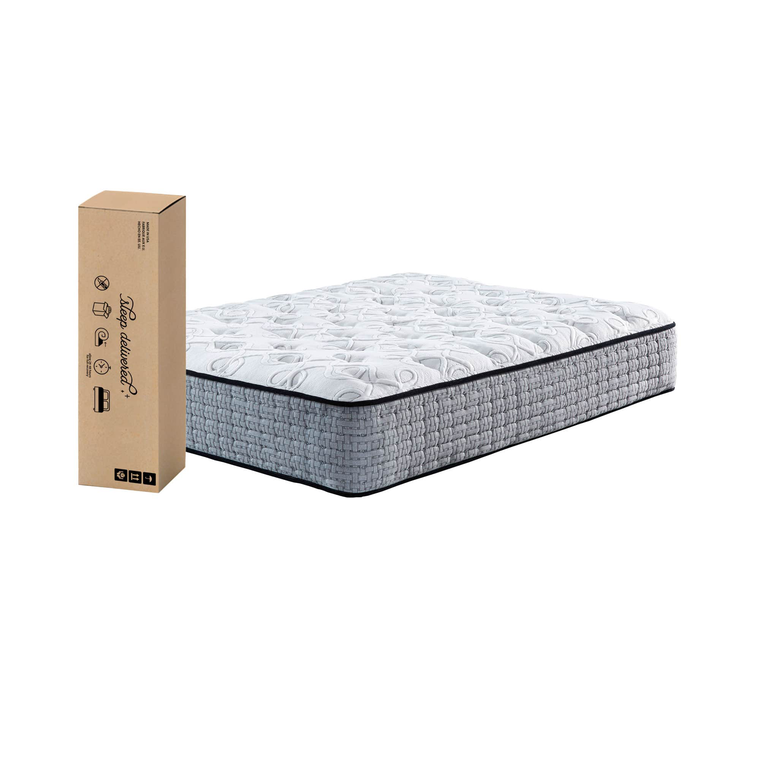 "14.5"" Tight Top Plush King Innerspring Boxed Mattress"