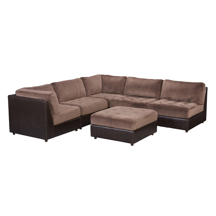 6-Piece Hennessy Modular Sectional With Ottoman
