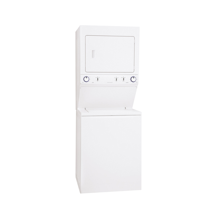 3.8 cu. ft. Washer & 5.5 cu. ft. 240 Volt Electric Dryer - White