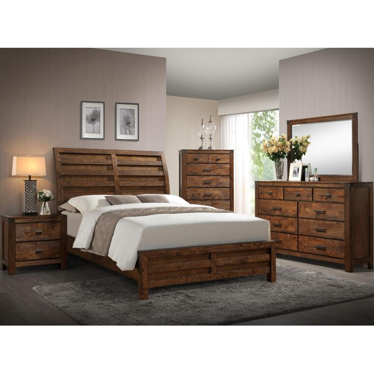 7-Piece Curtis Bedroom w/King Bed