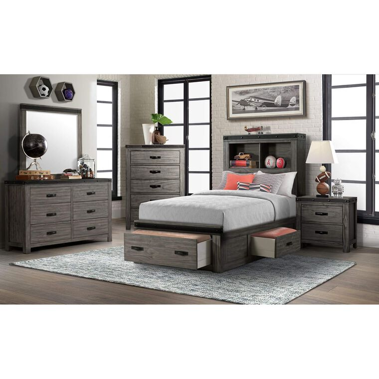 7-Piece Wade Twin Storage Bedroom