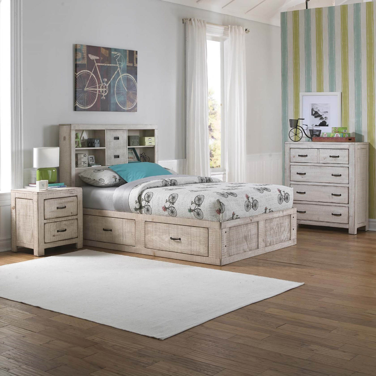 6-Piece Captain's Youth Full-Size Bedroom Collection | Tuggl