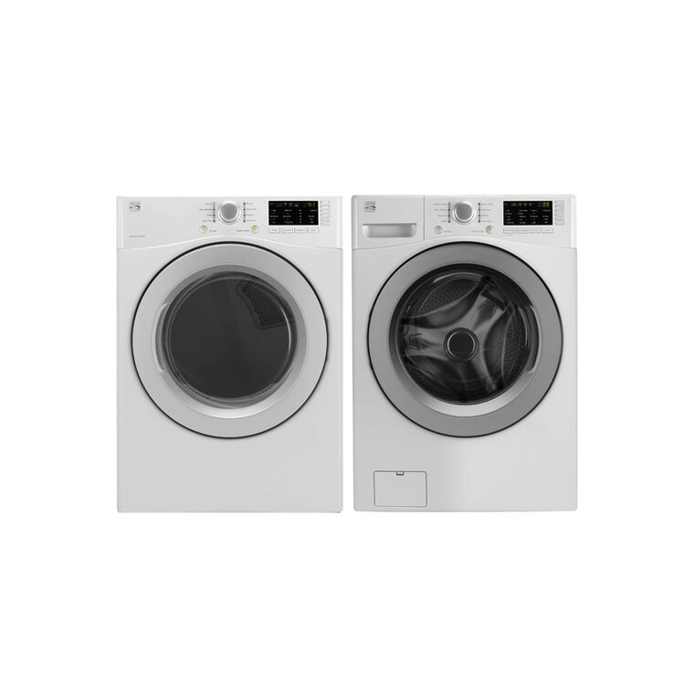 High Efficiency 4.8 cu. ft. Top-Load Washer & 7.0 cu. ft. Gas Dryer