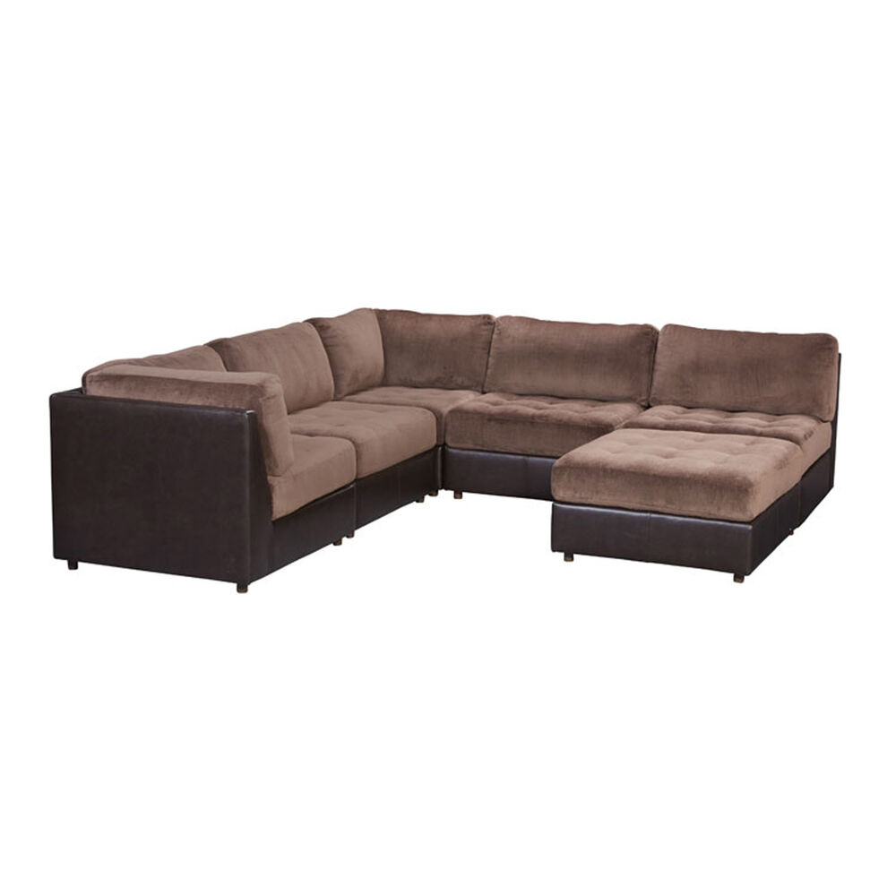 Woodhaven Industries Sectionals 6-Piece Hennessy Living Room Collection