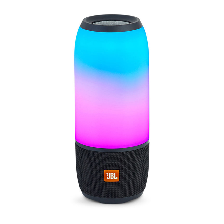 JBL Pulse 3 Portable Bluetooth Speaker (Black) | Tuggl