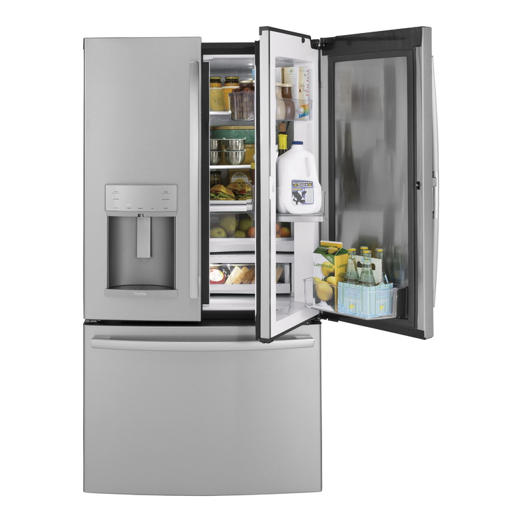 22.2 cu. ft. French Door Refrigerator - Stainless Steel