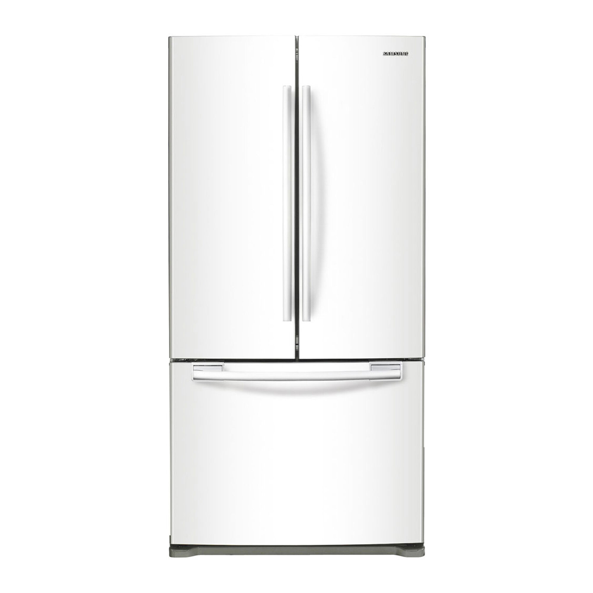 Exceptionnel Counter Depth French Door Refrigerator   White