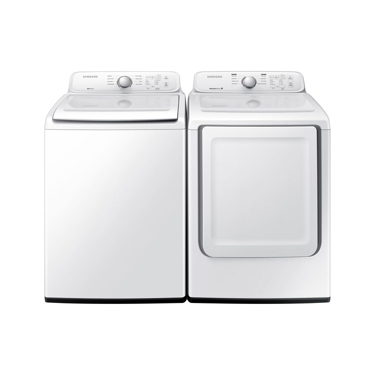 4.0 cu. ft. Top Load Washer & 7.2 cu. ft. Gas Dryer