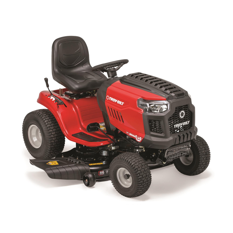 """46"""" Deck 679cc Riding Mower With Automatic Transmission"""