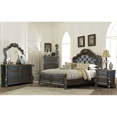 7-Piece Charlotte King Bedroom Collection