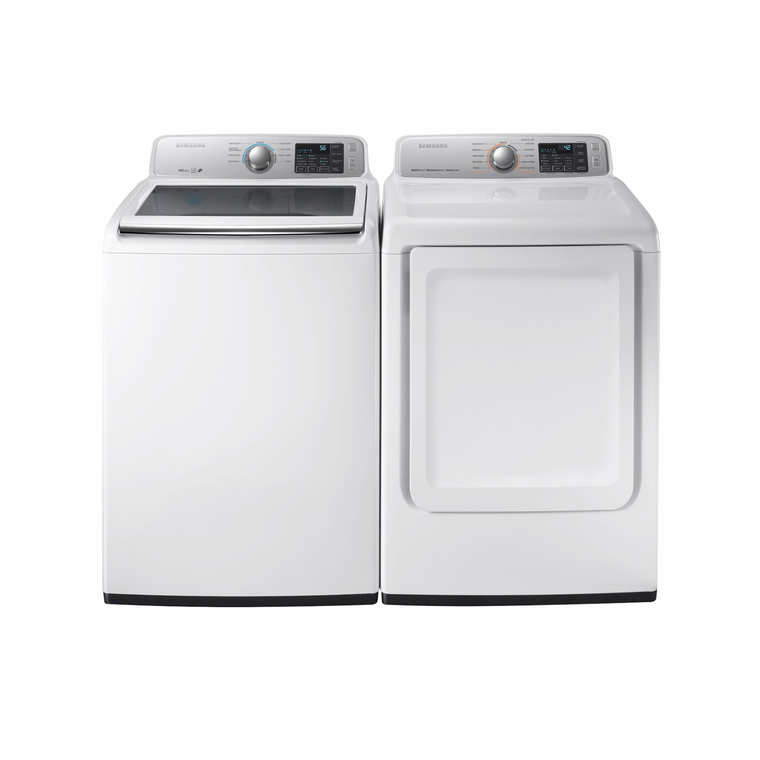 4.5 cu. ft. Energy Star Top Load Washer & 7.4 cu. ft. Electric Dryer | Tuggl