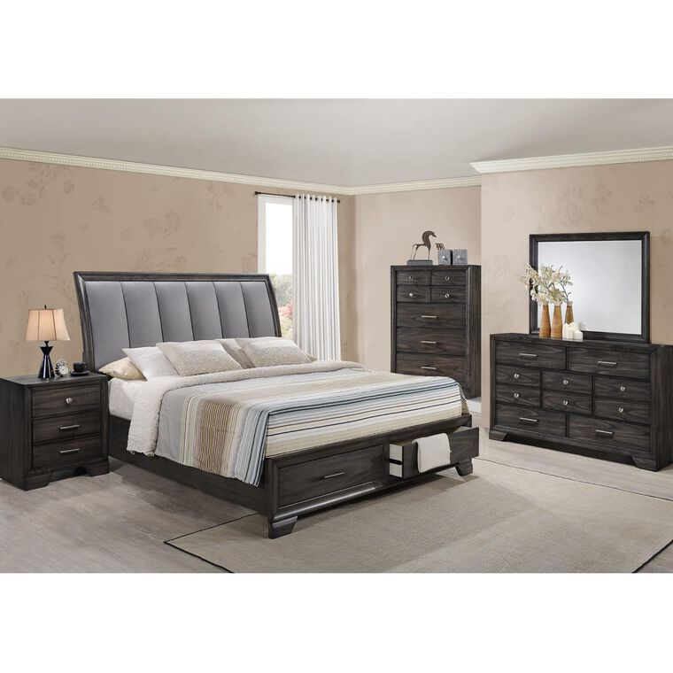 7-Piece Jaymes Bedroom w/King Bed