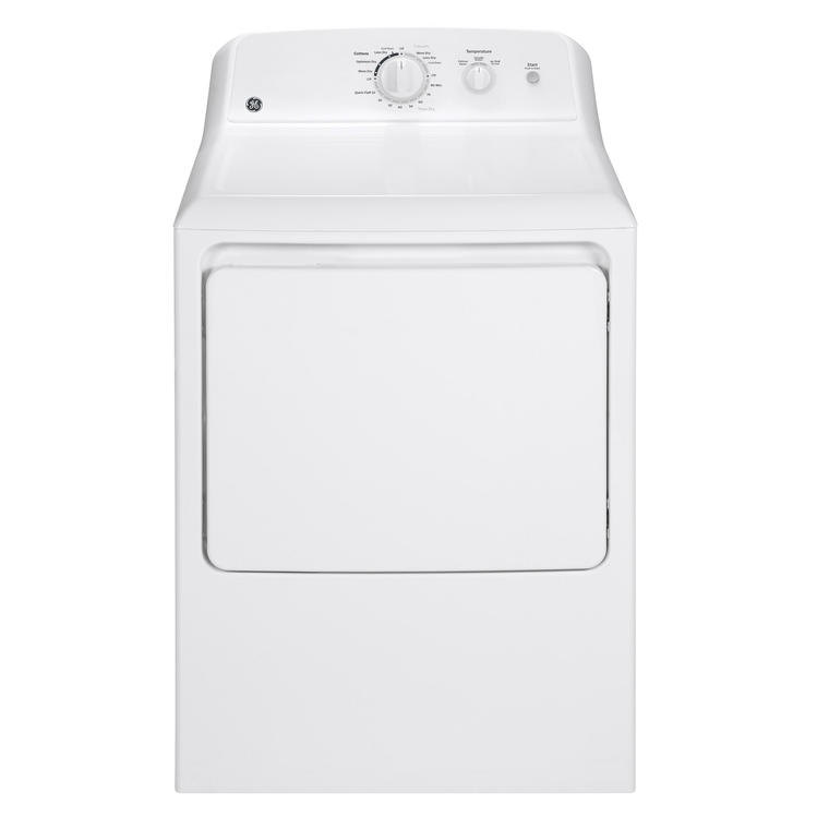 3.8 cu. ft. Top Load Washer &  6.2 cu. ft. Electric Dryer
