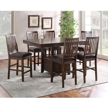 7-Piece Yorktown Counter Height Dining Set