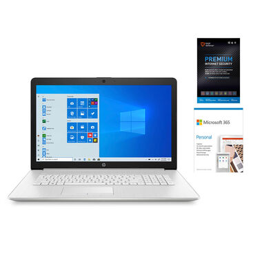 """17.3"""" Laptop with Microsoft 365 Personal and Total Defense Internet Security"""