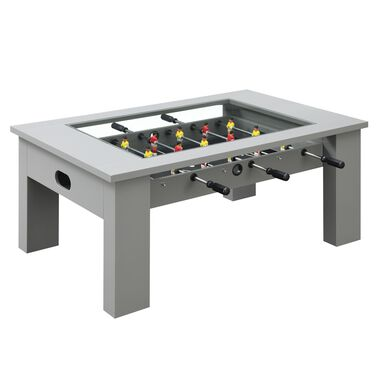 "45"" Foosball Gaming Table - Gray"