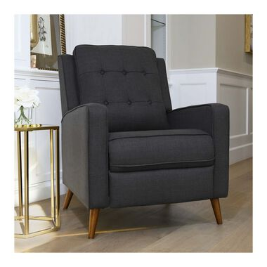 Indio Grey Pushback Recliner