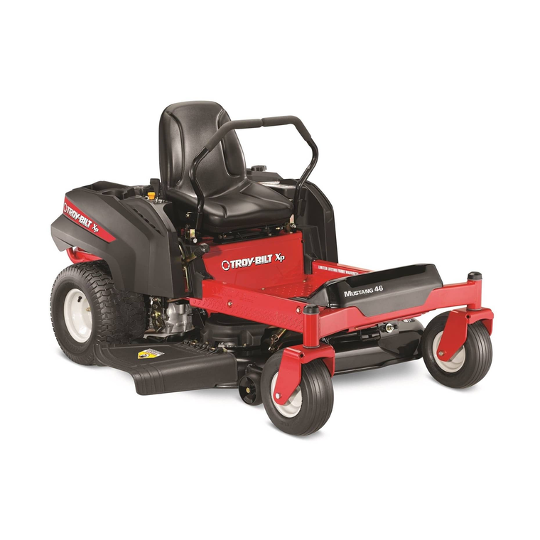 Troy Bilt Outdoor Power Mustang 46 Quot Twin Blade Zero Turn
