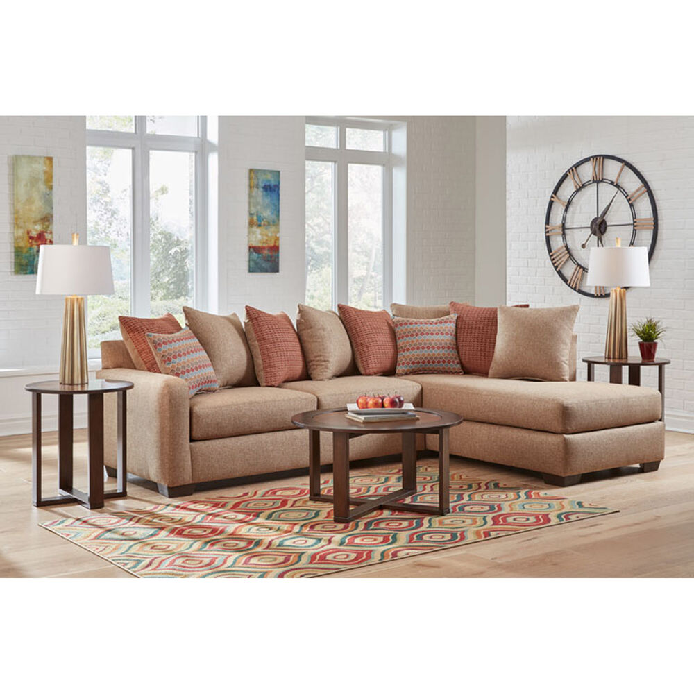 Woodhaven Industries Sectionals 2-Piece Casablanca Living