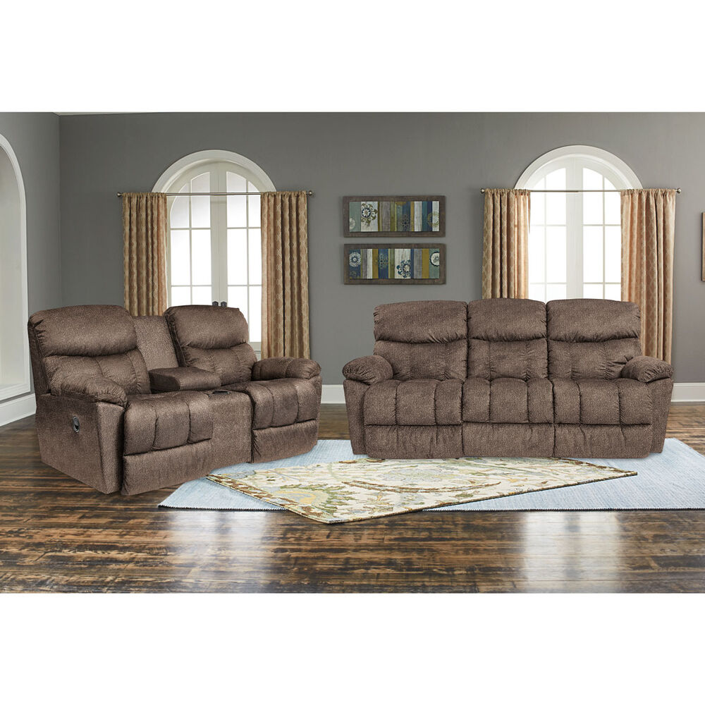 Rent To Own La Z Boy 2 Piece Morrison Reclining Sofa And Loveseat