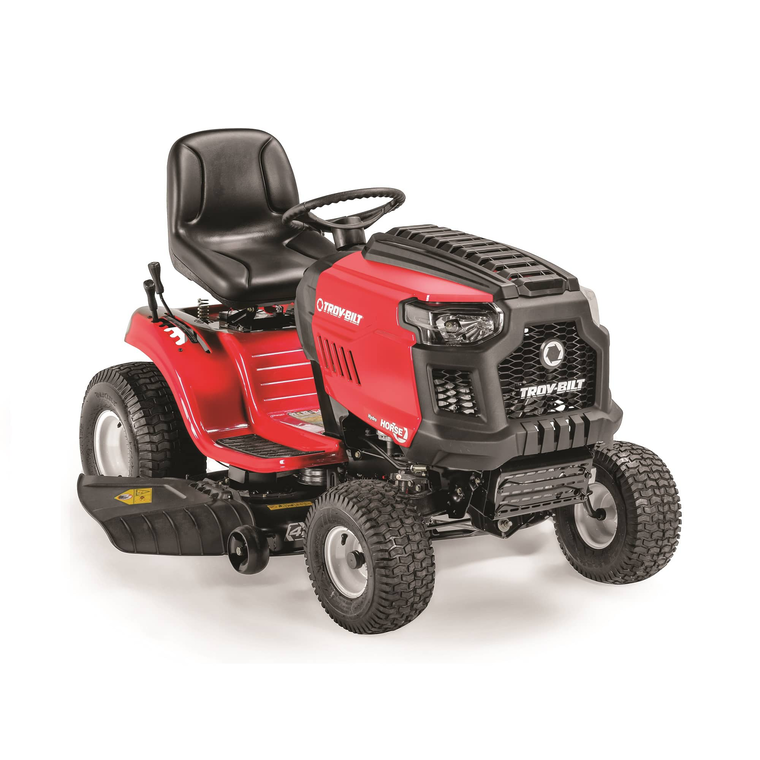 """42"""" Deck 547cc Riding Mower With Hand Hydro Transmission"""