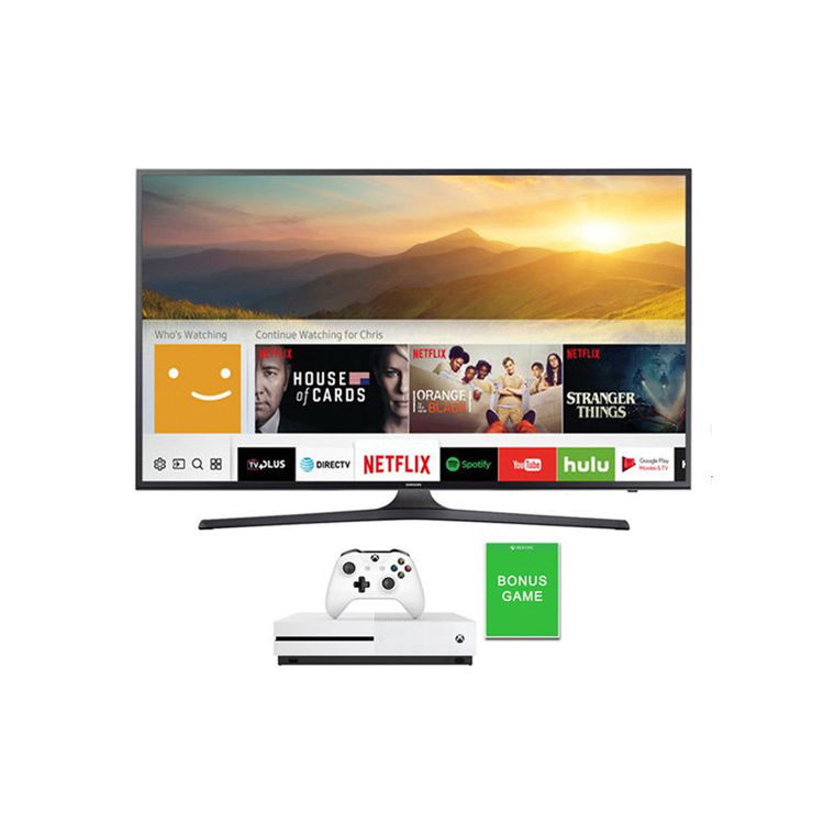 "50"" Class (49.5"" Diag) Smart 4K UHD TV & Xbox One S with Bonus Game Bundle 