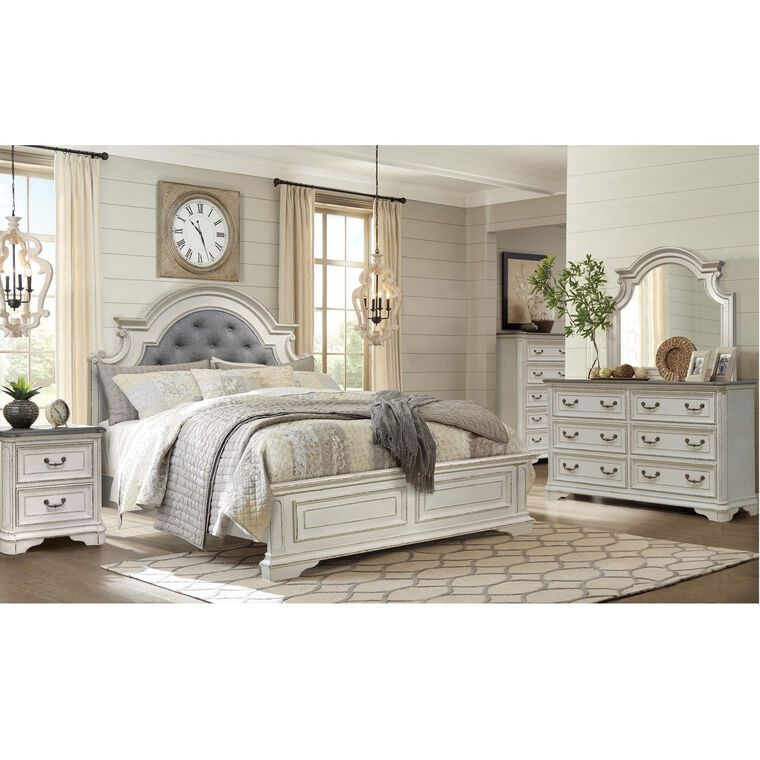 Riversedge Furniture Bedroom Groups 7 Piece Madison Queen Bedroom