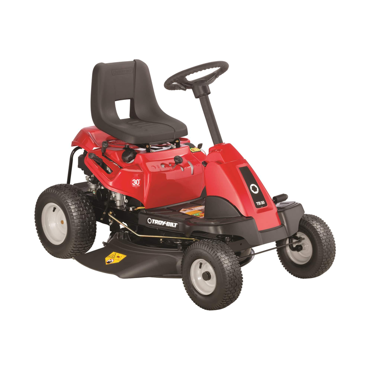 """30"""" Deck 382cc Riding Mower With 6-Speed Manual Transmission"""