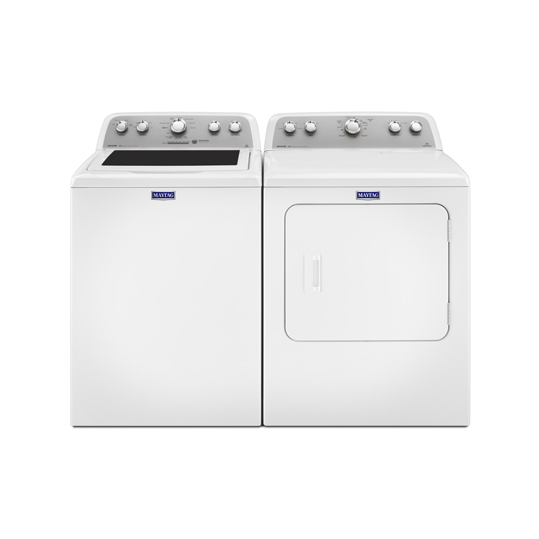 Bravos 4.3 cu. ft. High Efficiency Top Load Washer & 7.0 cu. ft. Electric Dryer at Aaron's in Lincoln Park, MI | Tuggl