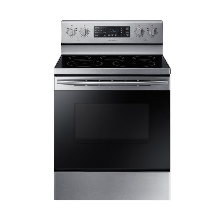 Convection Oven Ceramic Cooktop Electric Range Stainless