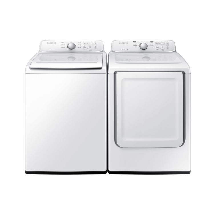 4.5 cu. ft. Top Load Washer & 7.2 cu. ft. Gas Dryer