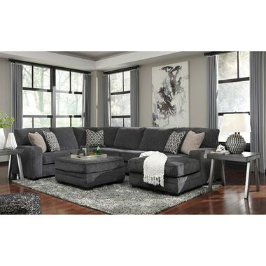 Rent To Own Ashley 4 Piece Tracling Sectional Living Room Collection At Aaron S Today