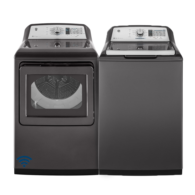 5.8 cu. ft. Energy Star Top Load Washer & 7.4 cu. ft. Energy Star Electric Steam Dryer