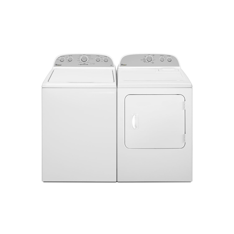 4.3 cu. ft. HE Top Load Washer & 7.0 cu. ft. Electric Dryer at Aaron's in Lincoln Park, MI | Tuggl