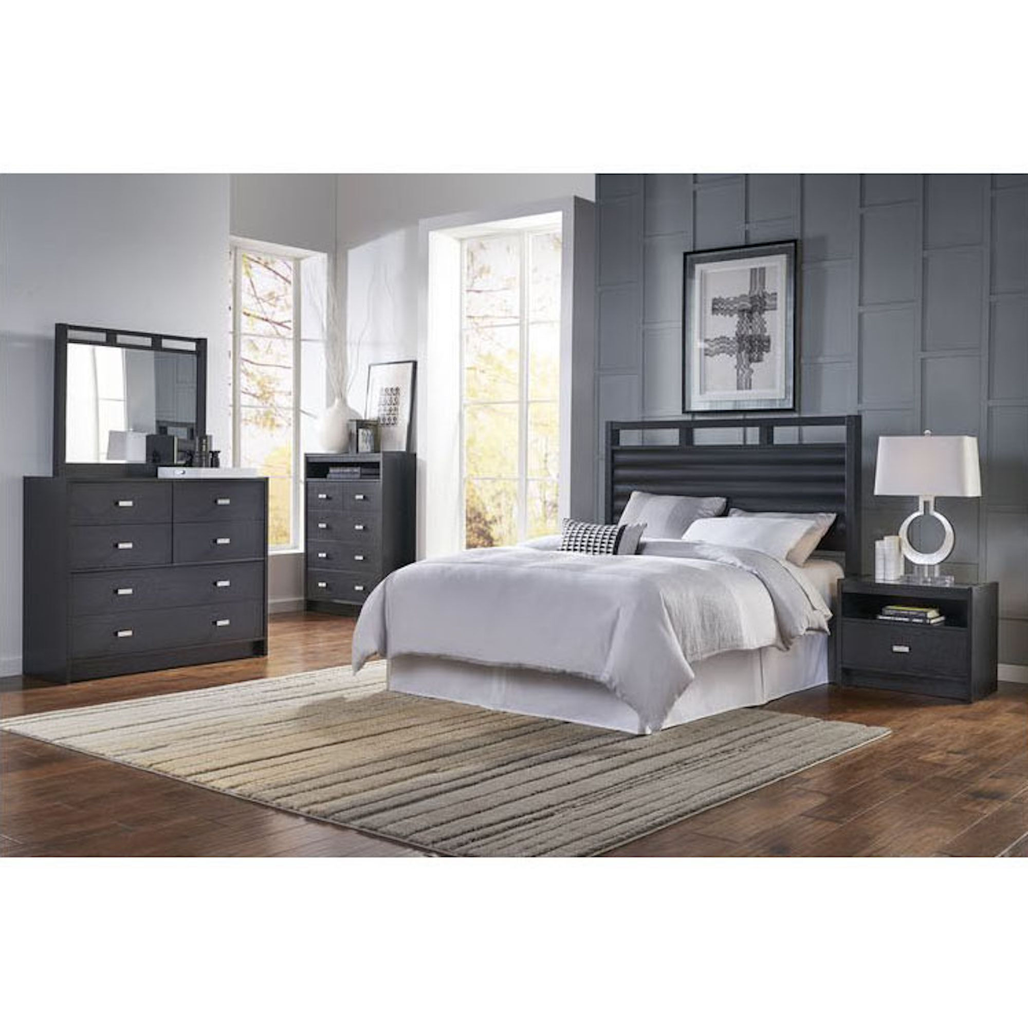 Delightful 5 Piece Soho Bedroom Collection