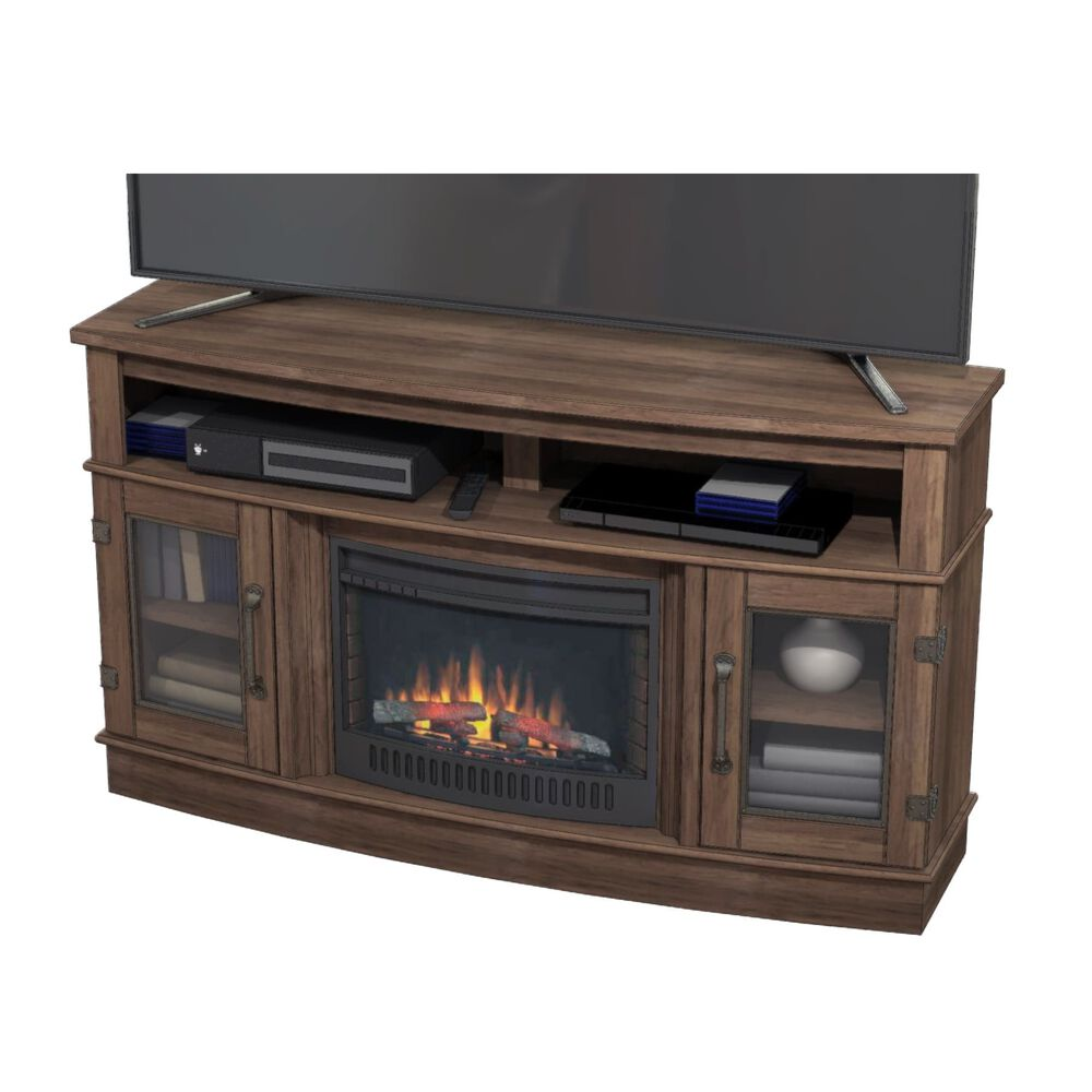Whalen 60 Tv Console With 23 Electric Fireplace