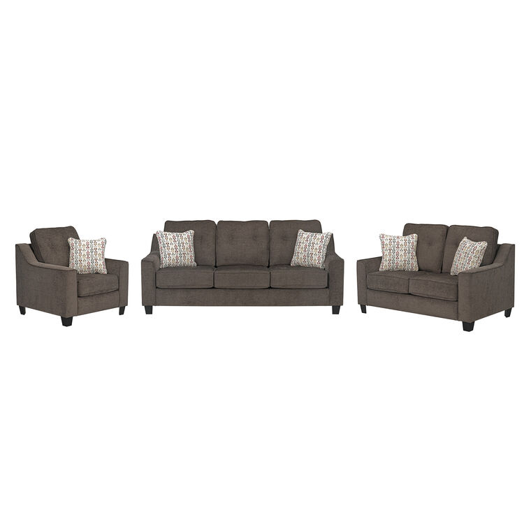 3-Piece Marco Sofa, Loveseat, and Chair