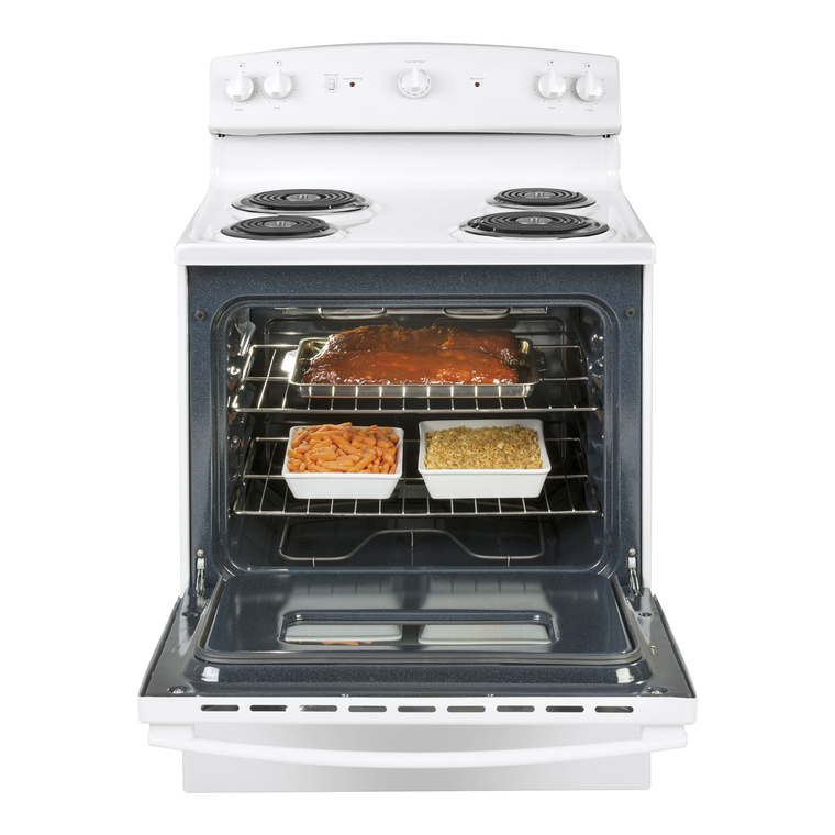 5.0 cu. ft. Electric Range with Coil Cooktop - White