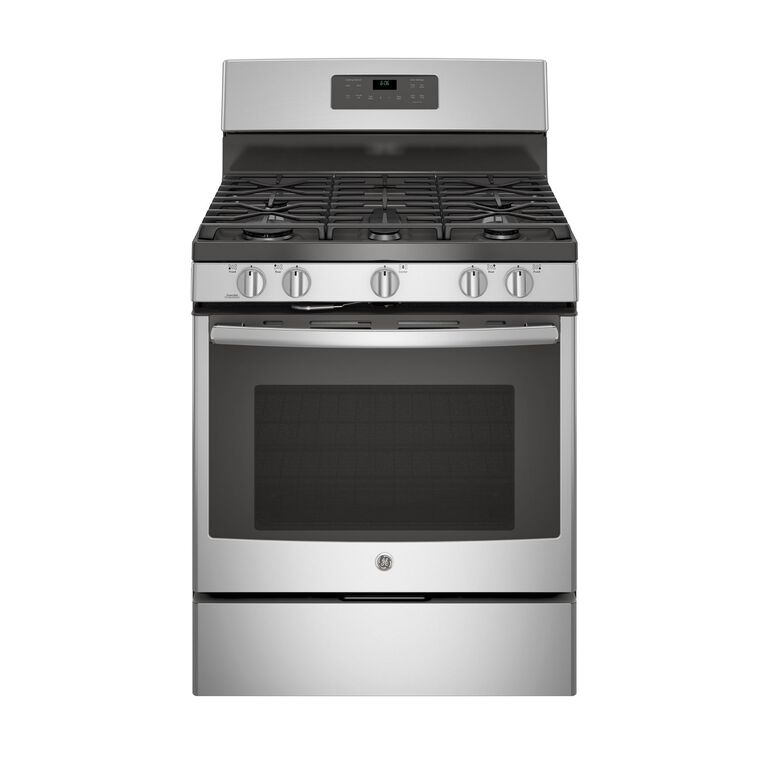 5.0 cu. ft. Self Cleaning Gas Range - Stainless